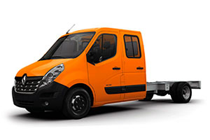 Фаркопы на Renault Master Chassis