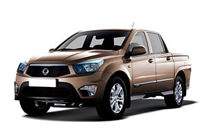 Фаркопы на Ssang Yong Actyon Sports