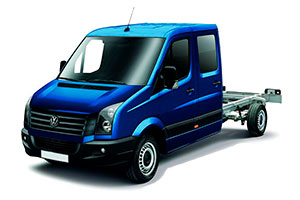 Фаркопы на Volkswagen Crafter Chassis