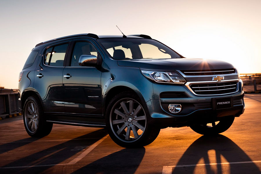 Фаркопы на Chevrolet Trailblazer